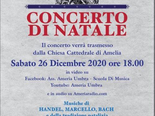 Diretta Concerto di Natale 2020 – dalla Cattedrale di Amelia