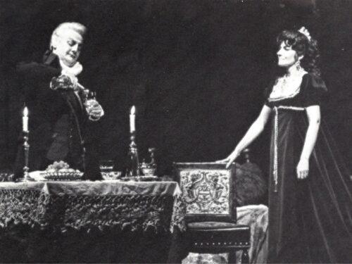 La Domenica di Ameria Radio  28 marzo 2021 ore 18.00 – G. Puccini Tosca pagine scelte – Callas – Gobbi  – Cioni