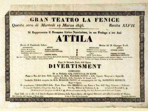 G. Verdi Attila – Curiosità, Trama e Libretto