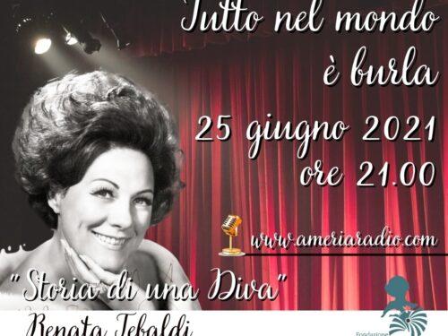 DIRETTA – Tutto nel Mondo è Burla – Stasera all'Opera – Renata Tebaldi  Storia di Una Diva