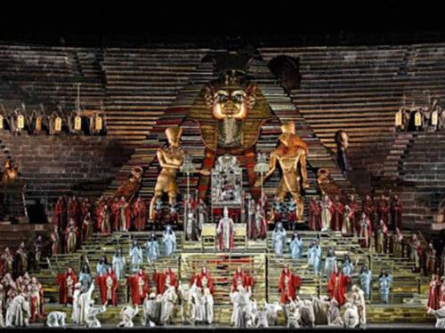 Tutto nel Mondo è Burla  – stasera all'opera  – G. Verdi Aida
