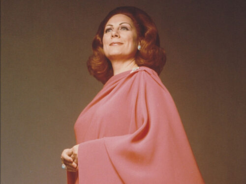 """Tutto nel Mondo è Burla Estate  – stasera all'opera Renata Tebaldi 15 novembre 1975  Napoli – Teatro di San Carlo: """"Recital"""""""