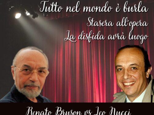 """DIRETTA – Tutto nel Mondo è Burla stasera all'opera – La disfida avrà luogo """"Leo Nucci vs Renato Bruson"""""""